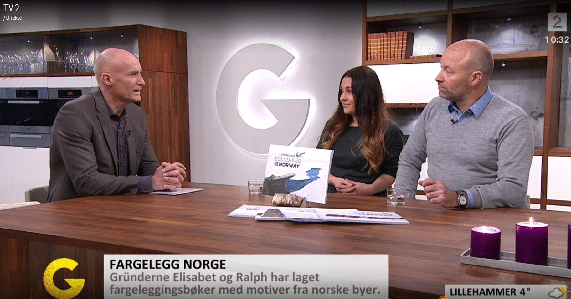 Besøk på God Morgen Norge