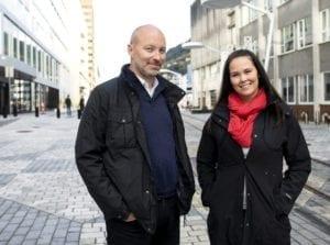 Ralph og Annette Pitstop i BA